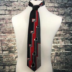Pierre Balmain Paris Luxury Designer Mens Silk Tie